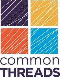 logo for common threads thrift store